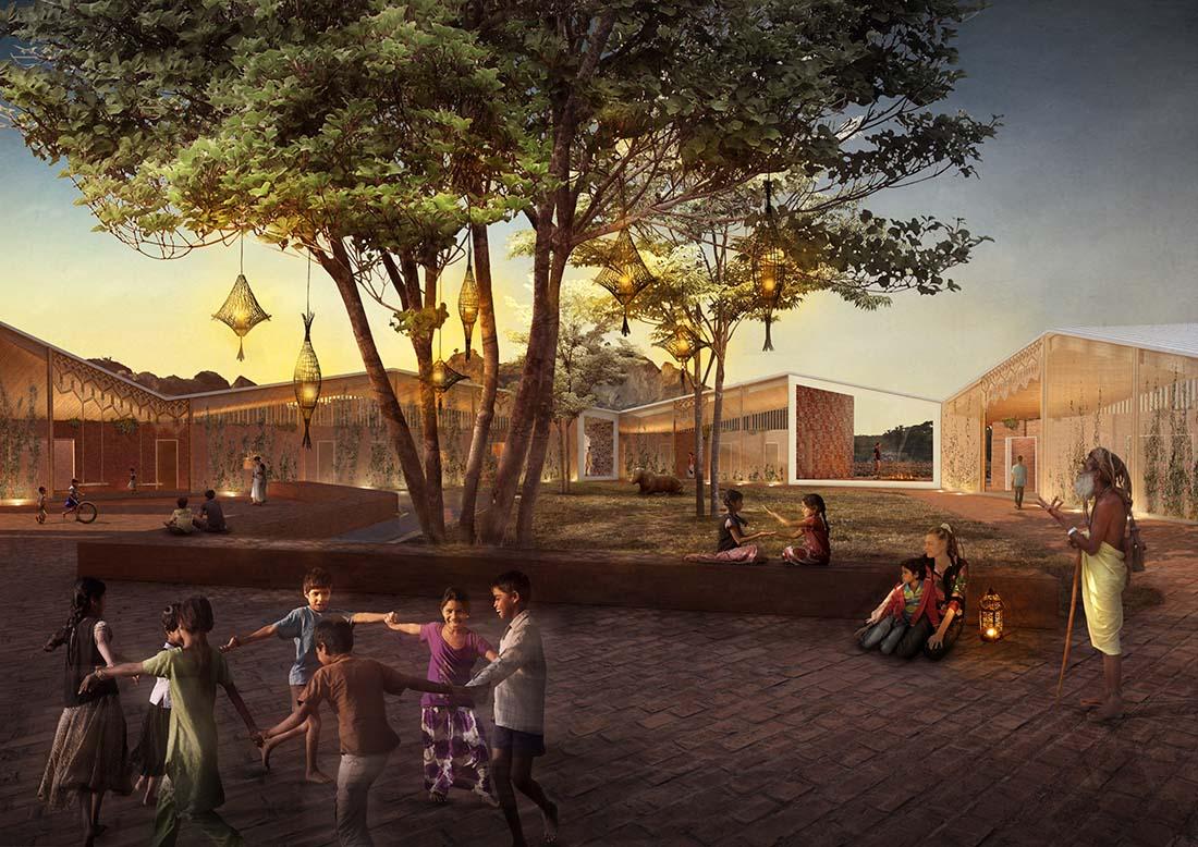 Arquitectura-social-orfanato-Nodopía-Arquitectura-Diseño-cuerdas