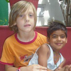 Oreste y Shivam